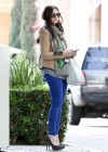 Michelle Trachtenberg Blue skinny jeans candids at  The UTA Office In LA-07