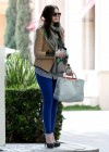 Michelle Trachtenberg Blue skinny jeans candids at  The UTA Office In LA-08