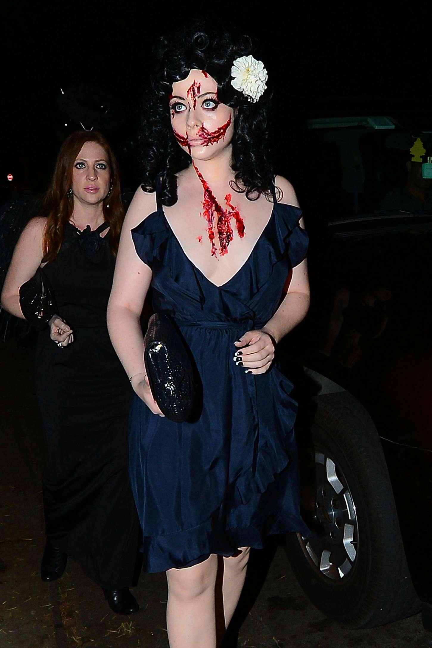 Michelle Trachtenberg: 2014 Casamigos Tequila Halloween Party -09 ...