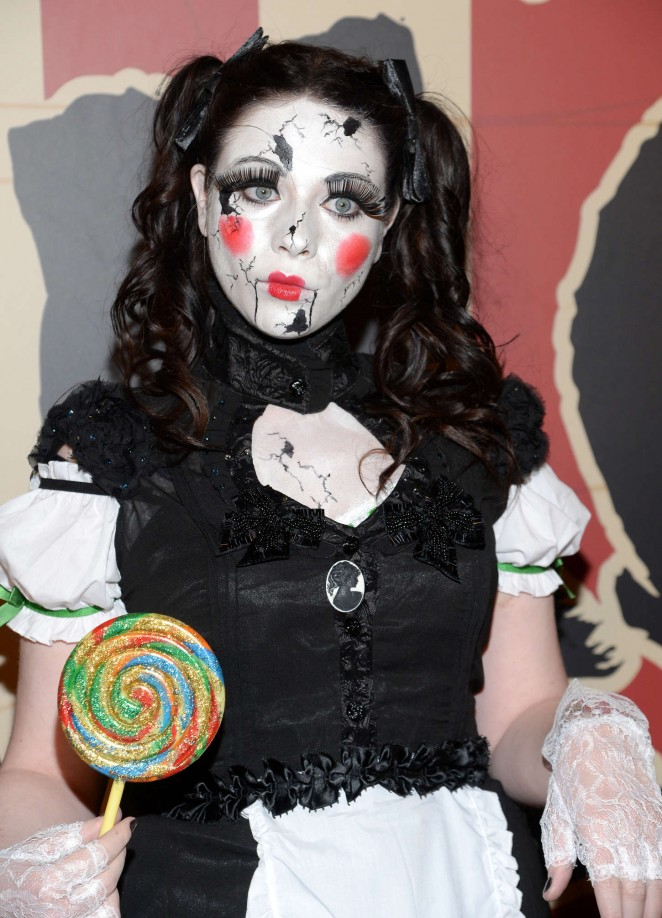 Michelle Trachtenberg - Heidi Klum's 15th Annual Halloween Party in NY