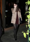 Michelle Trachtenberg - Leggy at Madeo in West Hollywood