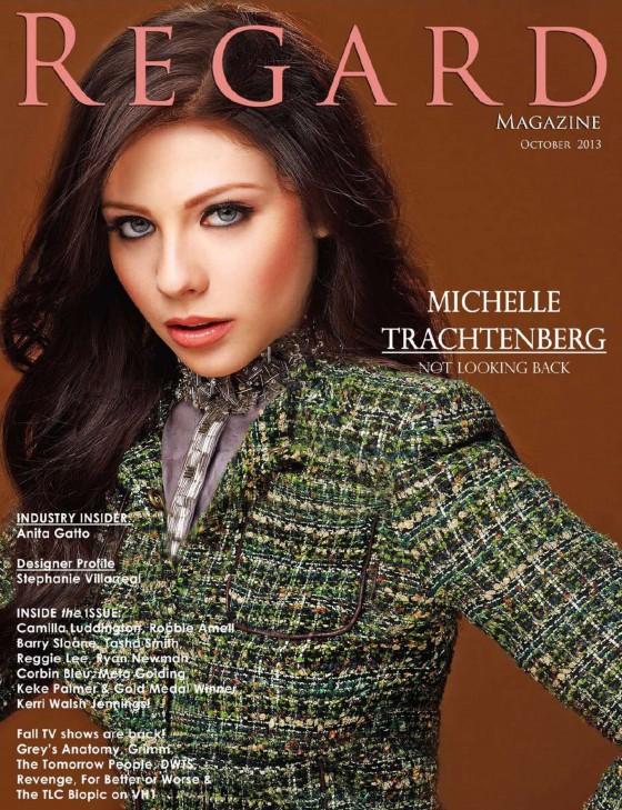 Michelle Trachtenberg: Regard Magazine -08