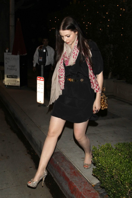 Michelle Trachtenberg Hot at Swag Bag Party-02