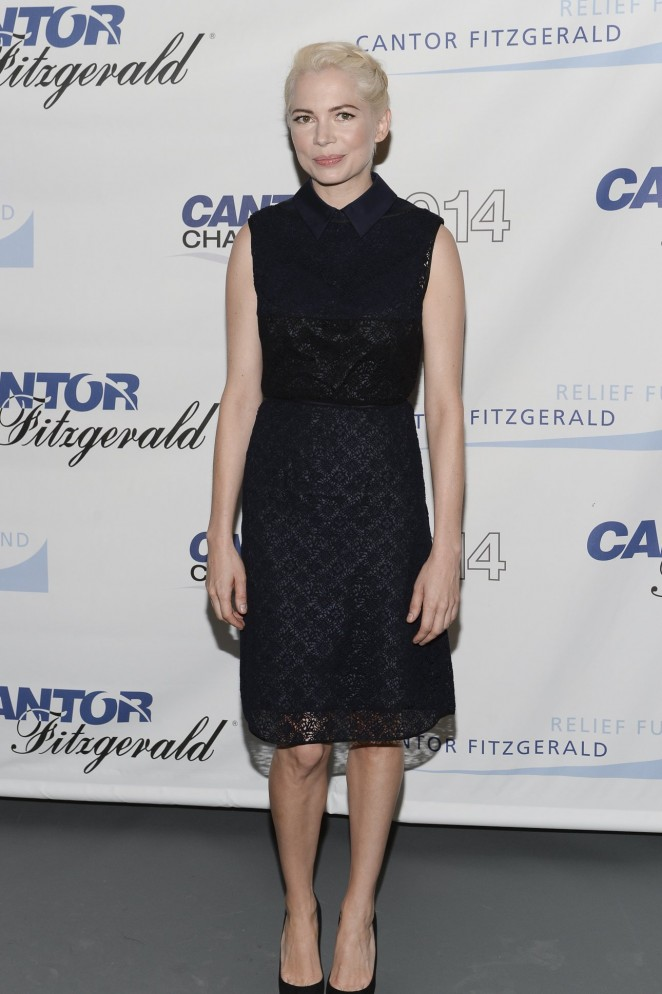 Michelle Williams - 2014 Charity Day Hosted By Cantor Fitzgerald And BGC in NYC
