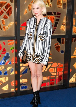 Michelle Williams - Louis Vuitton Dinner 'Playing With Shapes' in Miami