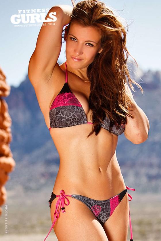 Miesha Tate: Fitness Gurls Magazine -05