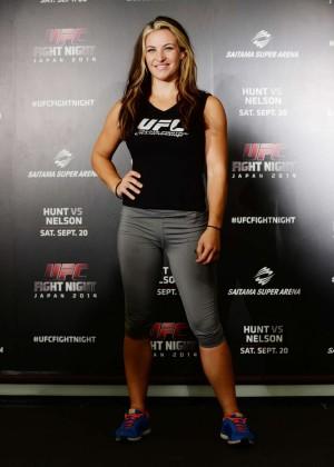 Miesha Tate at UFC Tokyo Press Conference in Japan