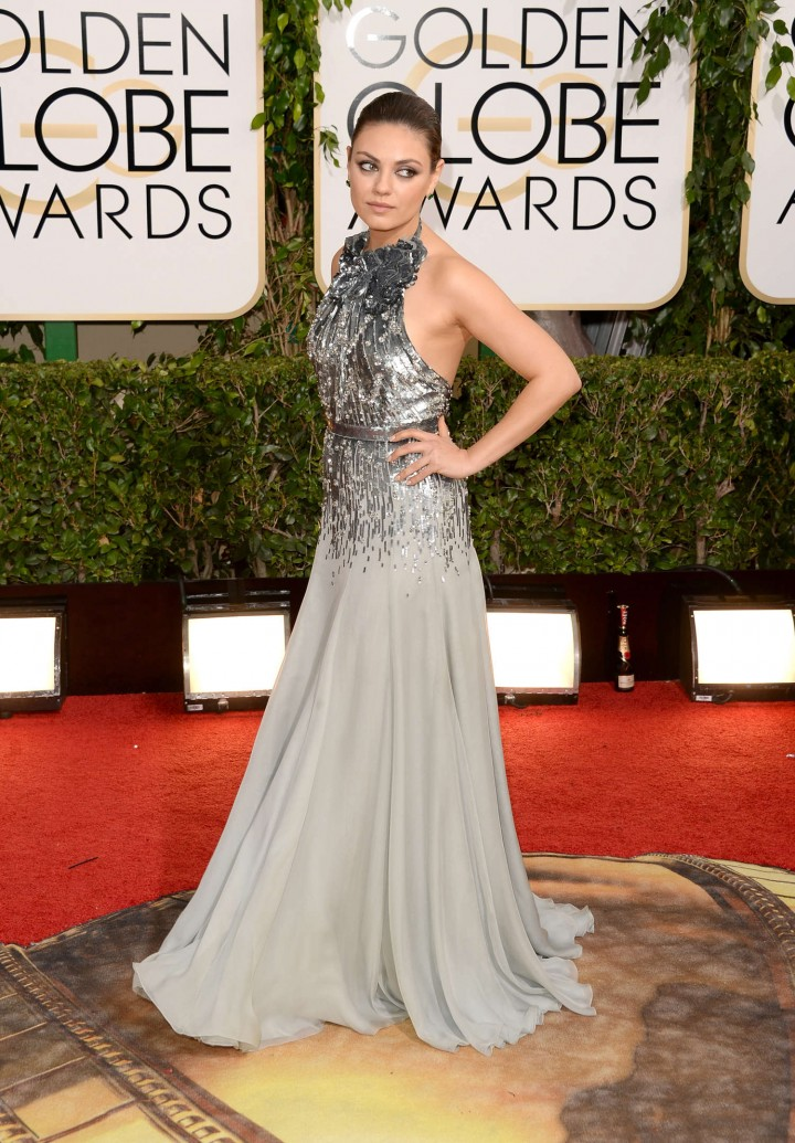 Mila Kunis – 71st Annual Golden Globe Awards in Beverly Hills