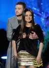 Mila Kunis - Grabbed by Justin Timberlake On 2011 MTV Movie Awards