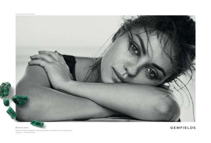 Mila Kunis: Gemfields 2014 Campaign -04