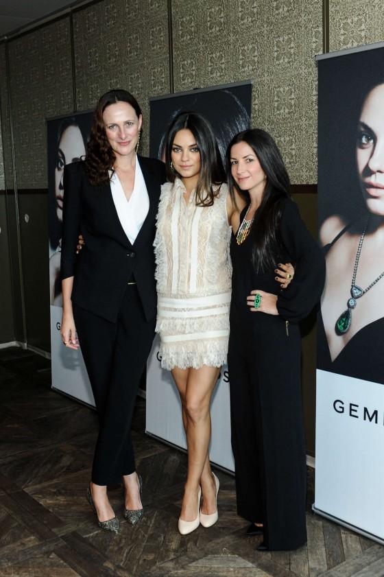 Mila Kunis – Gemfields New Brand Ambassador launch -02