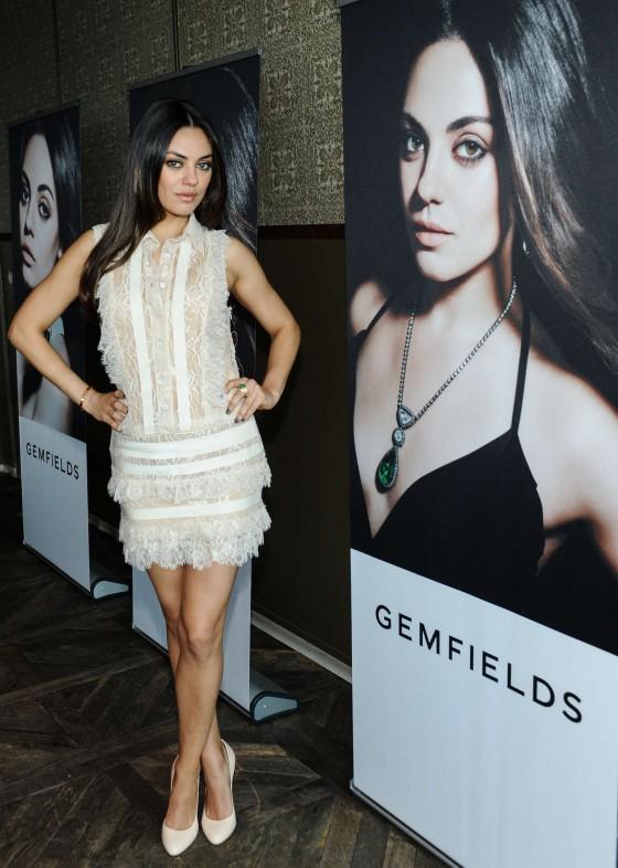 Mila Kunis – Gemfields New Brand Ambassador launch -05