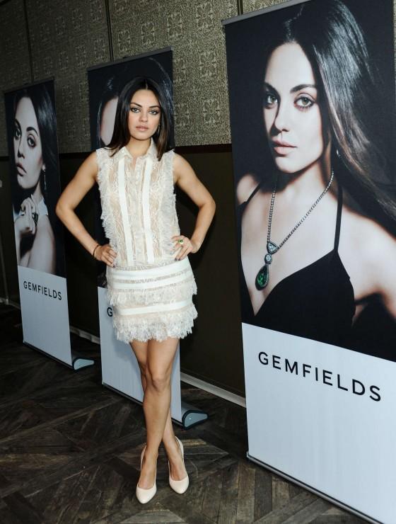 Mila Kunis – Gemfields New Brand Ambassador launch -07