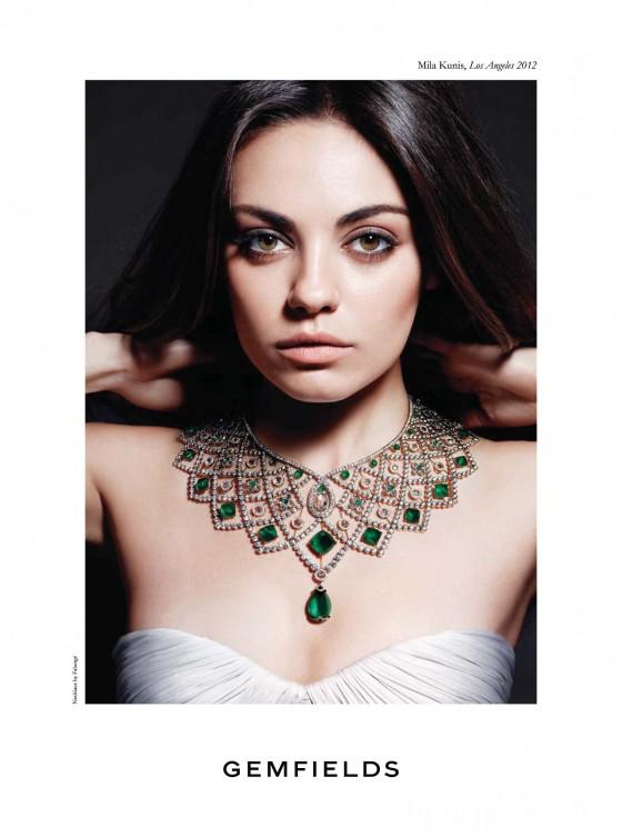 Mila Kunis – Harpers Bazaar Magazine 2013 -04