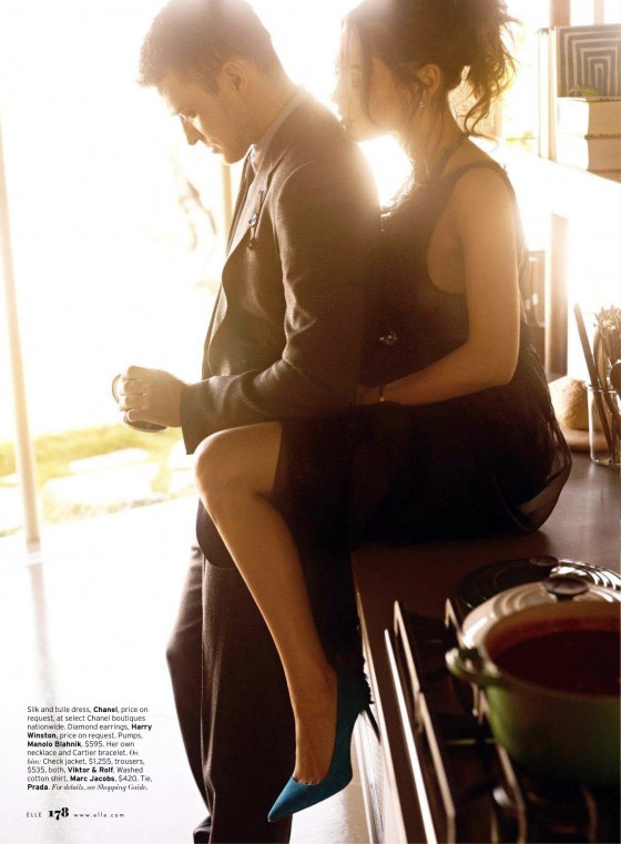 Mila Kunis in Elle Magazine August 2011 Issue