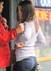 Mila Kunis - In tight jeans on set of Blood Ties in NY
