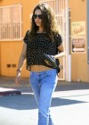 Mila Kunis at a nail salon in Studio City