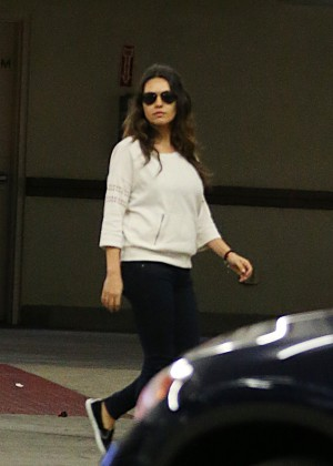 Mila Kunis - Out and about in Studio City