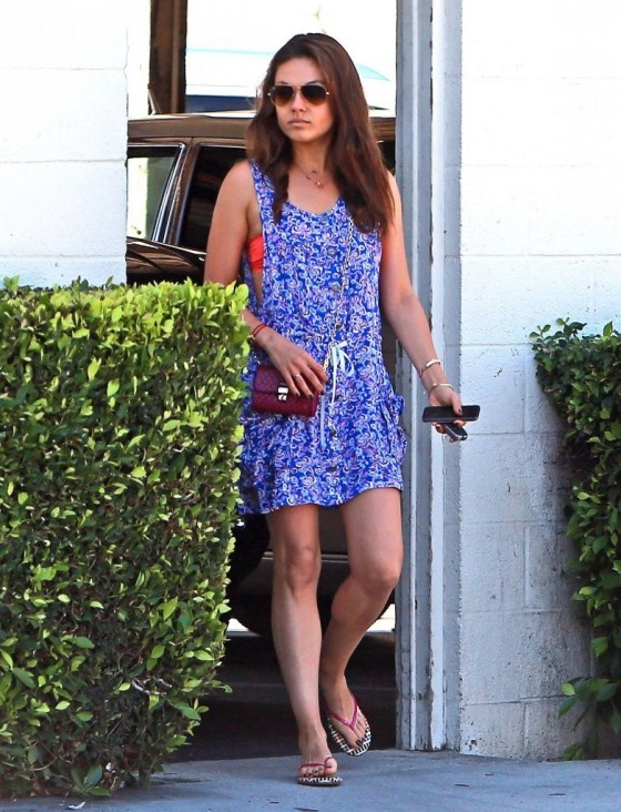 Mila Kunis – out in West Hollywood