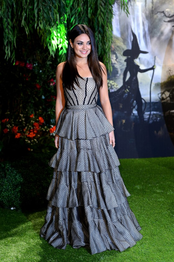 Mila Kunis – Oz The Great and Powerful Premiere in London -02