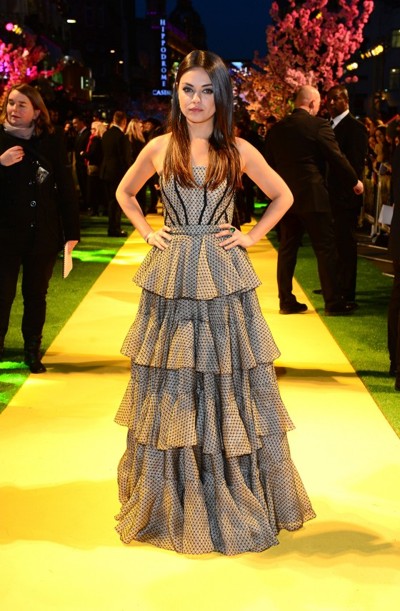 Mila Kunis – Oz The Great and Powerful Premiere in London -05