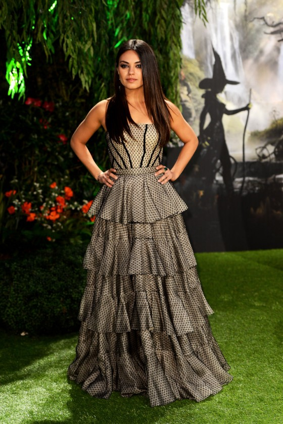 Mila Kunis - Oz The Great and Powerful Premiere in London -07