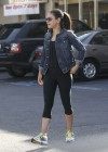 Mila Kunis hot in Spandex in LA-01