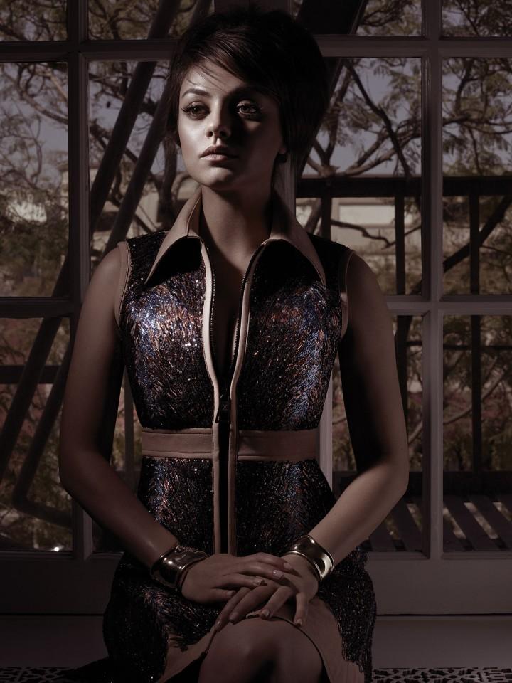 Mila Kunis W magazine: August 2014 -06