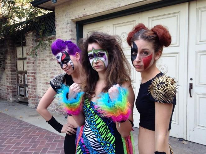 "Milana Vayntrub - Filming ""Wrestling Isn't Wrestling"" set in LA"