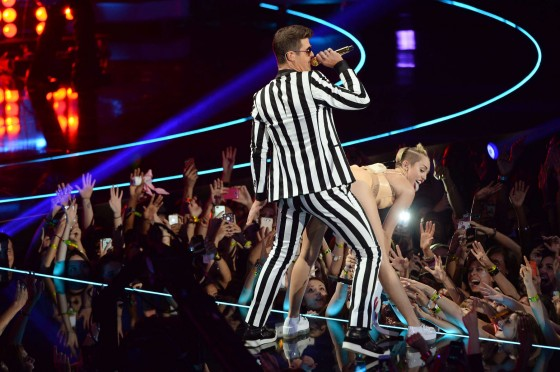 Miley Cyrus – 2013 MTV Video Music Awards in Brooklyn