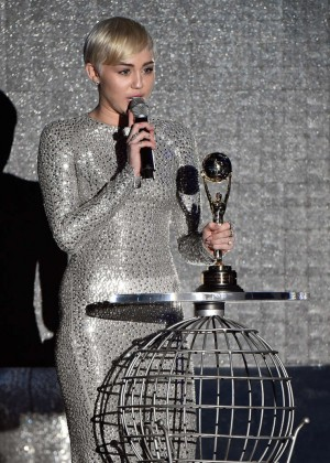 Miley Cyrus - 2014 World Music Awards in Monte Carlo -03