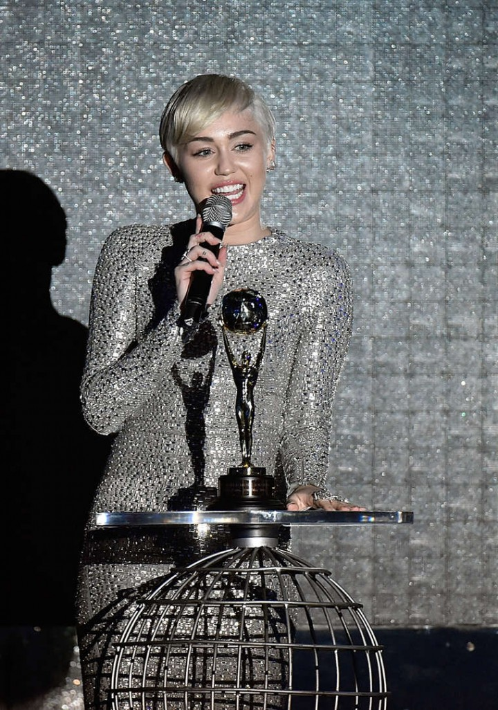 Miley Cyrus - 2014 World Music Awards in Monte Carlo -06