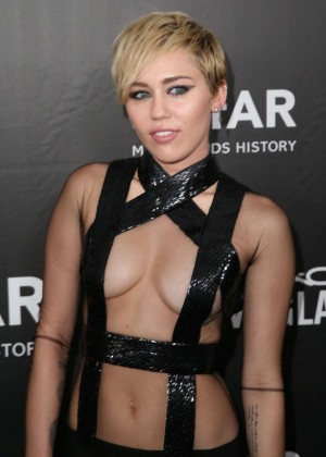 Miley Cyrus - 2014 amfAR LA Inspiration Gala in Hollywood