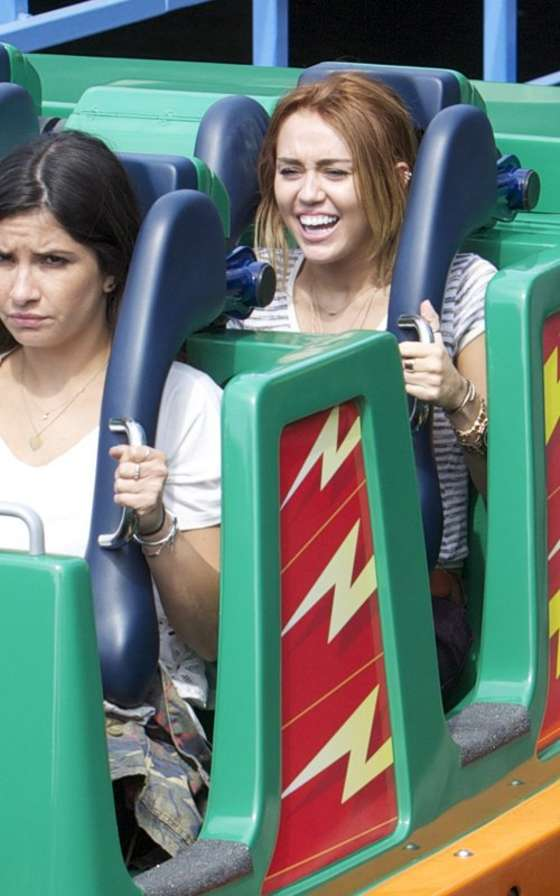 Miley Cyrus at Disneyland - May 2012