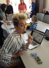Miley Cyrus at Facebook Headquarters -02
