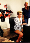 Miley Cyrus at Facebook Headquarters -03