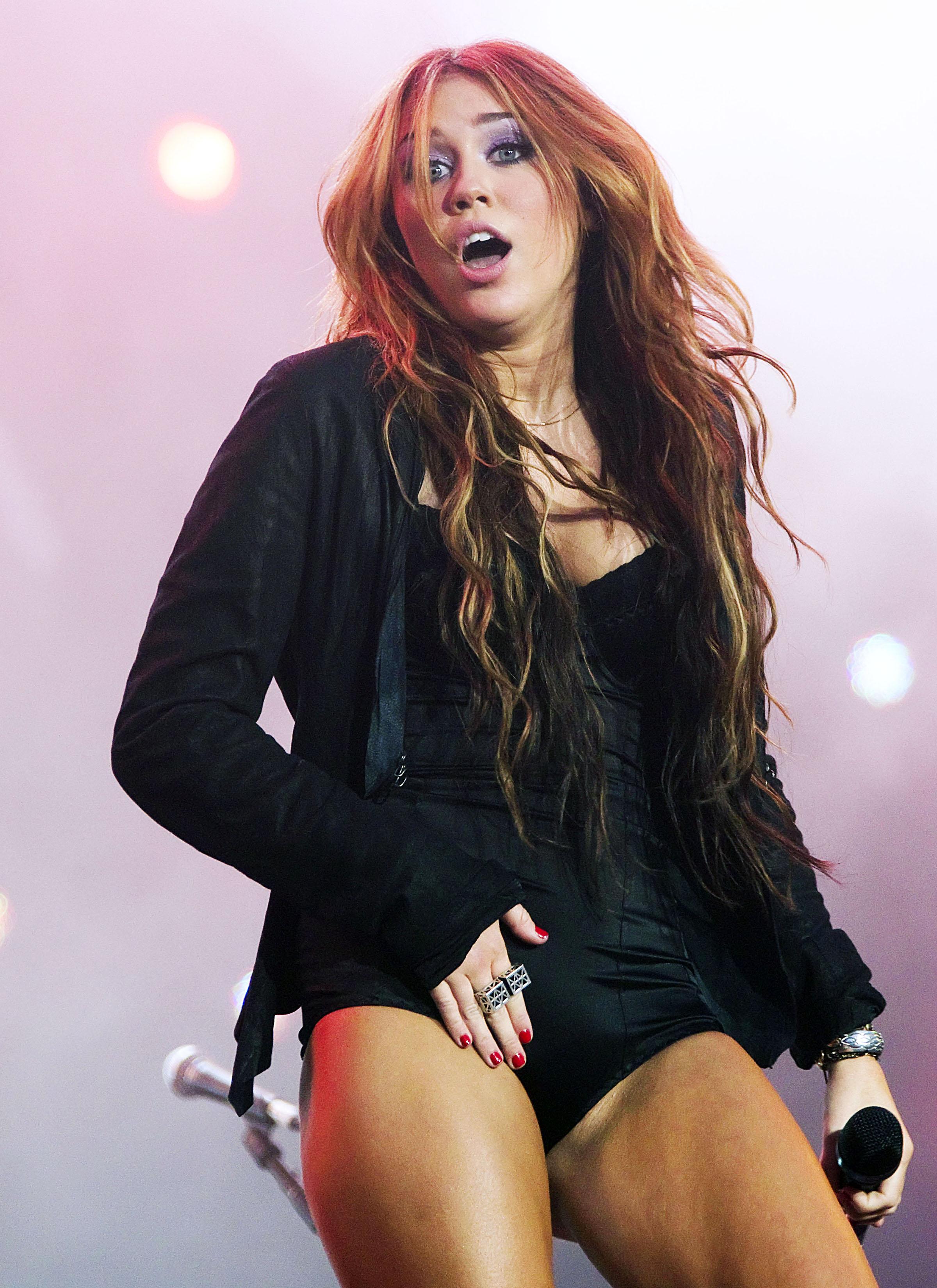 Miley Cyrus At Rock In Rio Music Festival In Arganda Del
