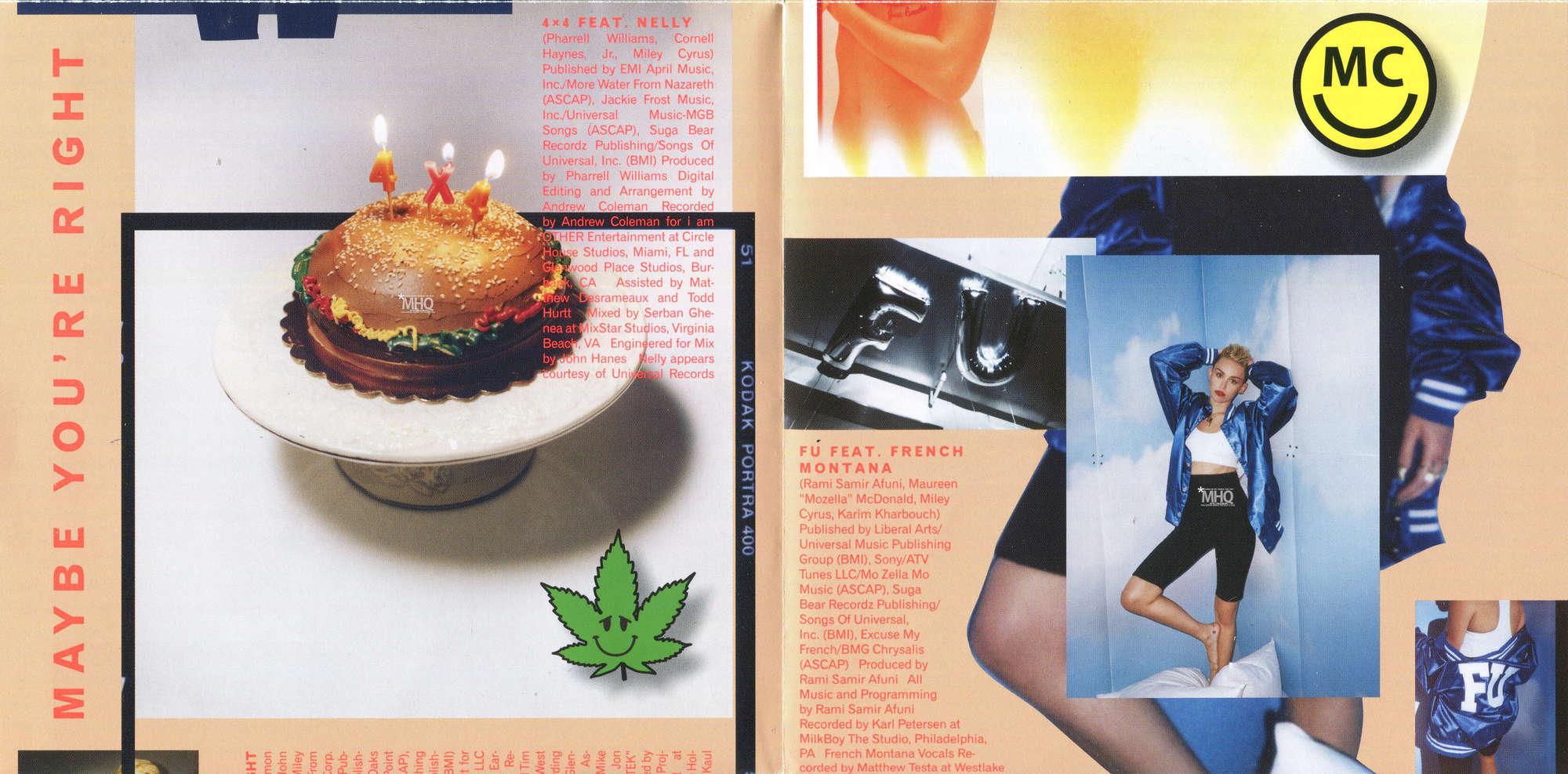 Miley Cyrus: Bangerz Album Booklet -03 - GotCeleb