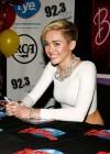 Miley Cyrus: Bangerz Promo in NYC -06