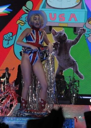 Miley Cyrus: Gasglow UK Bangerz Tour at The Hydro -17