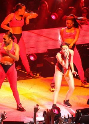 Miley Cyrus: Bangerz Tour in Washington -03