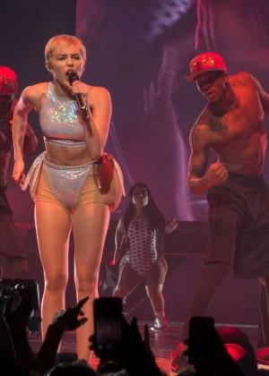 Miley Cyrus: Bangerz Tour in Adelaide -09