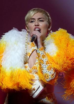 Miley Cyrus - Bangerz Tour in Perth -16