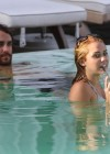 Miley Cyrus - Bikini at a Pool-03