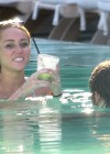 Miley Cyrus - Bikini at a Pool-06