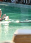 Miley Cyrus - Bikini at a Pool-11