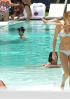 Miley Cyrus - Bikini - hotel pool in Miami-32
