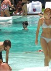 Miley Cyrus - Bikini - hotel pool in Miami-39