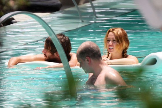 Miley Cyrus – Bikini in Miami-29