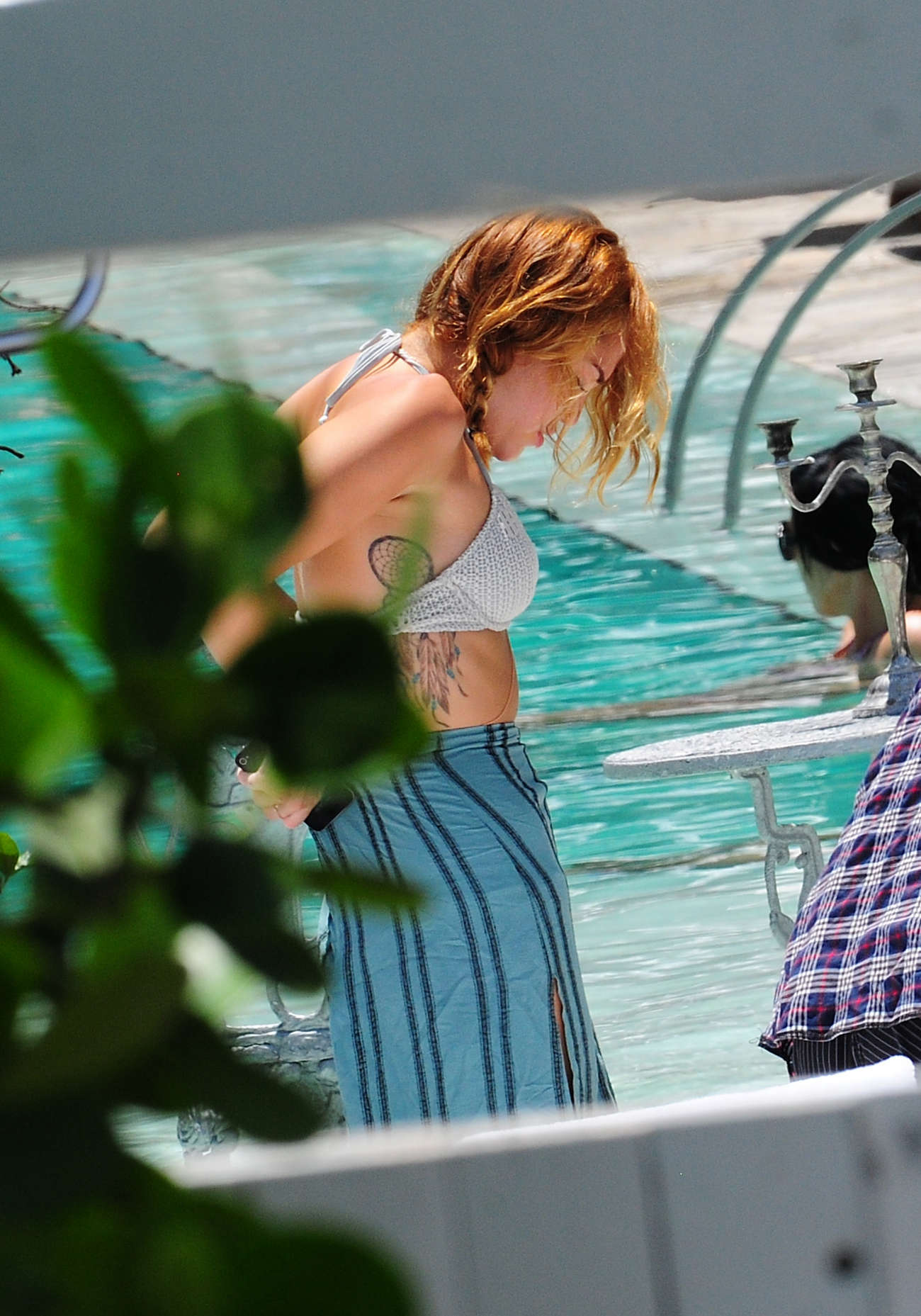 Miley Cyrus 2012 : Miley Cyrus – Bikini in Miami-32